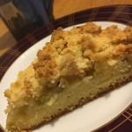 ルバーブの栄養と効能☆おススメレシピ「ルバーブのクランブルケーキ」