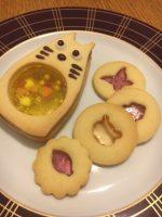 【楽しい!かわいい!!】シャカシャカクッキーの作り方・トトロバージョン